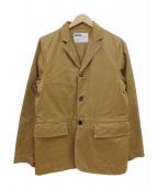 MHL.(エムエイチエル)の古着「3Bワークジャケット」 ベージュ