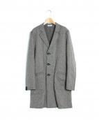 Engineered Garments(エンジニアードガーメンツ)の古着「リバーシブルチェスターコート」|グレー