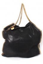 STELLA McCARTNEY(ステラ マッカートニー)の古着「シャギーディアビッグトートバッグ」|ブラック