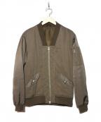 IROQUOIS(イロコイ)の古着「MA-1ジャケット」 オリーブ