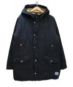 HINSON(ヒンソン)の古着「中綿マウンテンパーカー」|ブラック