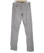 INCOTEX(インコテックス)の古着「ペイント加工ストライプパンツ パンツ」