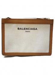 BALENCIAGA(バレンシアガ)の古着「ロゴキャンバスショルダーバッグ」