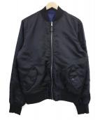 HUF(ハフ)の古着「リバーシブルMA-1ジャケット」
