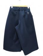 adidas×HYKE(アディダス×ハイク)の古着「キュロットスカート」|ネイビー