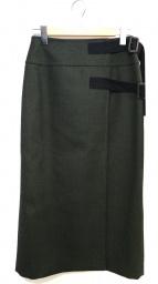 AK+1 by EFFE BEAMS(エーケーワンバイエッフェビームス)の古着「ラップタイトスカート」