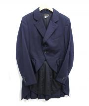 COMME des GARCONS(コムデギャルソン)の古着「バックプリーツジャケット」 ネイビー