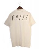 OFFWHITE(オフホワイト)の古着「ハイネックTシャツ」|ホワイト