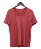 Maison Margiela(メゾンマルジェラ)の古着「エイズTシャツ」|ボルドー