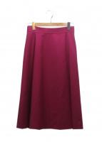 ANAYI(アナイ)の古着「ダブルクロスフレアスカート」