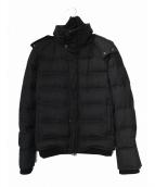 AKM(エーケーエム)の古着「ダブルフェイスダウンジャケット」|ブラック