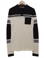 BALENCIAGA(バレンシアガ)の古着「長袖ニットポロシャツ」