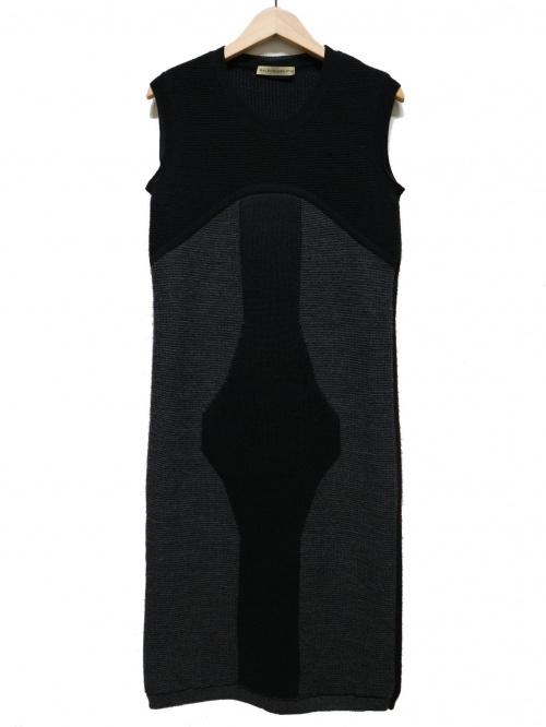 BALENCIAGA(バレンシアガ)BALENCIAGA (バレンシアガ) ノースリーブニットワンピース サイズ:38の古着・服飾アイテム