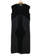 BALENCIAGA(バレンシアガ)の古着「ノースリーブニットワンピース」