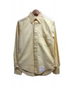 THOM BROWNE(トム ブラウン)の古着「ボタンダウンシャツ」 イエロー