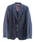 BOSS HUGO BOSS(ボス ヒューゴ ボス)の古着「2Bジャケット」|ネイビー