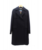 Paul Smith BLACK(ポールスミスブラック)の古着「ウールカシミヤフーデッドコート」