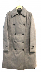 iCB(アイシービー)の古着「シームレスダウンコート」