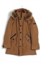 BURBERRY BLACK LABEL(バーバリーブラックレーベル)の古着「ホワイトグースダウンコート」