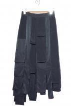 UN3D.(アンスリード)の古着「ランダムパーツスカート」