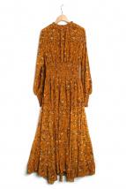 CASA FLINE(カーサフライン)の古着「ハイネックワンピース」