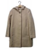 LAISSE PASSE(レッセパッセ)の古着「3Wayファーフードコート」|ベージュ