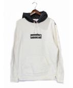 SUPREME × COMME des GARCONS SHIRT(シュプリーム × コムデギャルソンシャツ)の古着「Box Logo Hooded Sweatshirt」