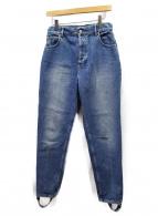 BALENCIAGA(バレンシアガ)の古着「ウォッシュ加工デニムパンツ」|ブルー