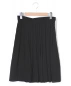 PAULE KA(ポルーカ)の古着「プリーツスカート」|ブラック