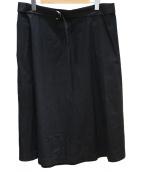 Traditional Weatherwear(トラディショナルウェザーウェア)の古着「ベルテッドラップスカート」
