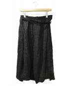Y's(ワイズ)の古着「アシメタックスカート」|ブラック