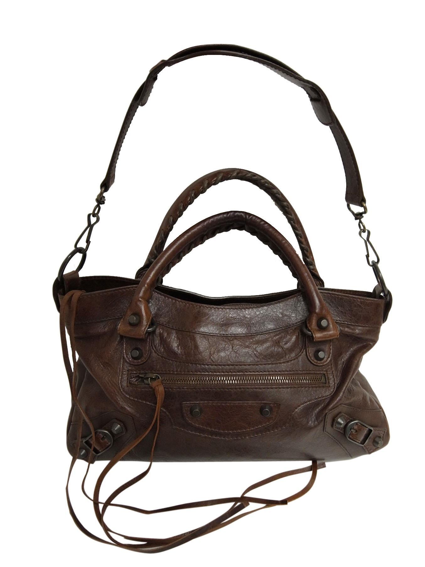 low priced 2ffd8 2c8bf [中古]BALENCIAGA(バレンシアガ)のレディース バッグ エディターズバッグ
