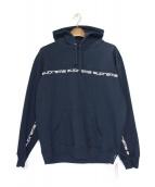 SUPREME(シュプリーム)の古着「Text Stripe Hooded Sweatshirt/」