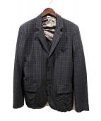 COMME des GARCONS HOMME DEUX(コムデギャルソンオムデュー)の古着「ウール縮絨ジャケット」