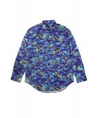 LOVE MOSCHINO(ラブモスキーノ)の古着「スプラッシュペイントシャツ」