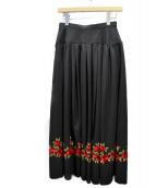 YVES SAINT LAURENT rive gauche(イヴ サンローラン リヴ ゴーシュ)の古着「ヴィンテージ刺繍スカート」