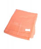 Dior(ディオール)の古着「大判ストール 」|オレンジ