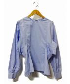 scye(サイ)の古着「コウミツドフレアーシャツ」