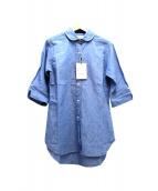 MADISON BLUE(マディソンブルー)の古着「チェルシーシャツ」|ブルー