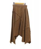 muller of yoshiokubo(ミュラーオブヨシオクボ)の古着「ドライツイードスカート」