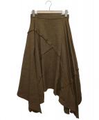 muller of yoshiokubo(ミュラー オブ ヨシオクボ)の古着「ドライツイードスカート」