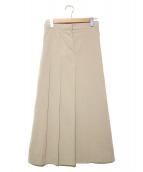 seya(セヤ)の古着「アシンメトリカルスカート」|グレー