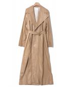 THE ROW(ザ ロウ)の古着「moora coat」 ベージュ