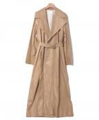 THE ROW(ザ ロウ)の古着「moora coat」|ベージュ