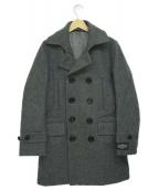 BEAMS Lights(ビームスライツ)の古着「メルトンPコート」|グレー