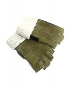 HUNTING WORLD(ハンティングワールド)の古着「手袋」|カーキ