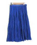 agnes b(アニエスベー)の古着「オーバーダイ加工スカート」