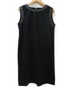 DSQUARED2(ディースクエアード)の古着「ノースリーブワンピース」|ブラック