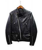 UNDERCOVERISM(アンダーカバイズム)の古着「ライダースジャケット」|ブラック