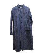 soi-e(ソワ)の古着「デニムシャツワンピース」